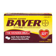 Bayer Aspirin Regular Strength Tablets