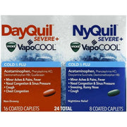 Vicks DayQuil/NyQuil Severe VapoCool Cold & Flu Caplets