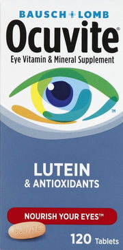 Ocuvite Eye Health Lutein Tablets 120 ct