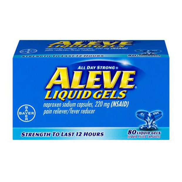 Aleve All Day Strong Pain Relief 220mg Liquid Gels
