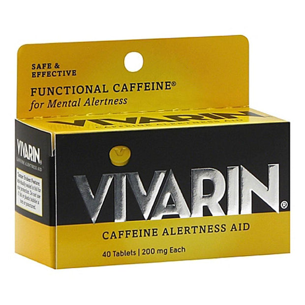 Vivarin Caffeine Alertness Aid Tablets
