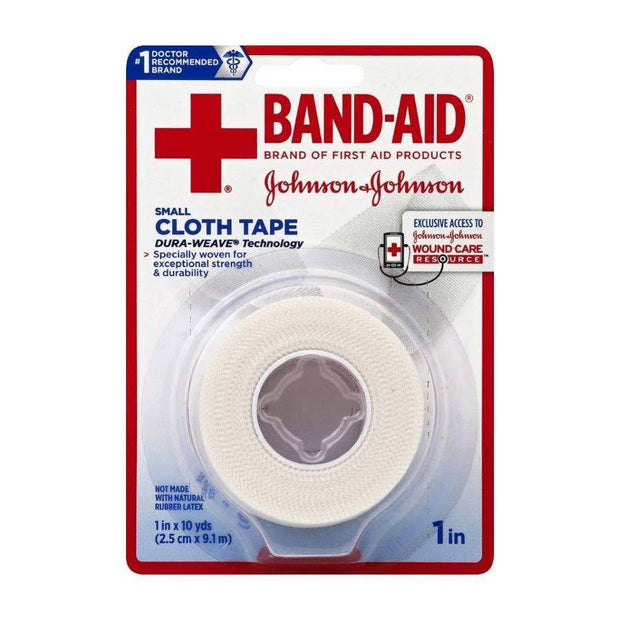 Band-Aid First Aid Cloth Tape 1 in