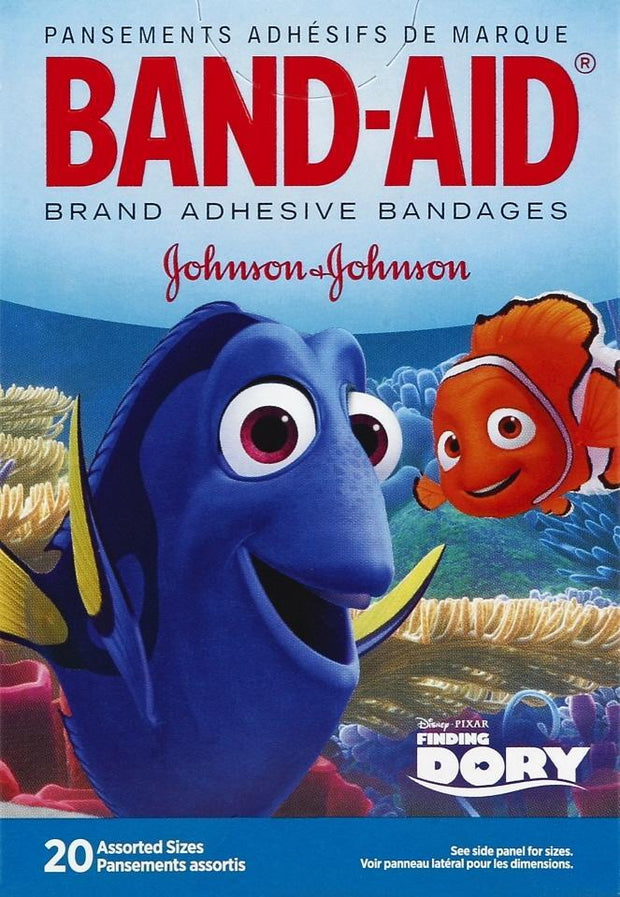 Band-Aid Adhesive Bandages Finding Dory Assorted 20 ct