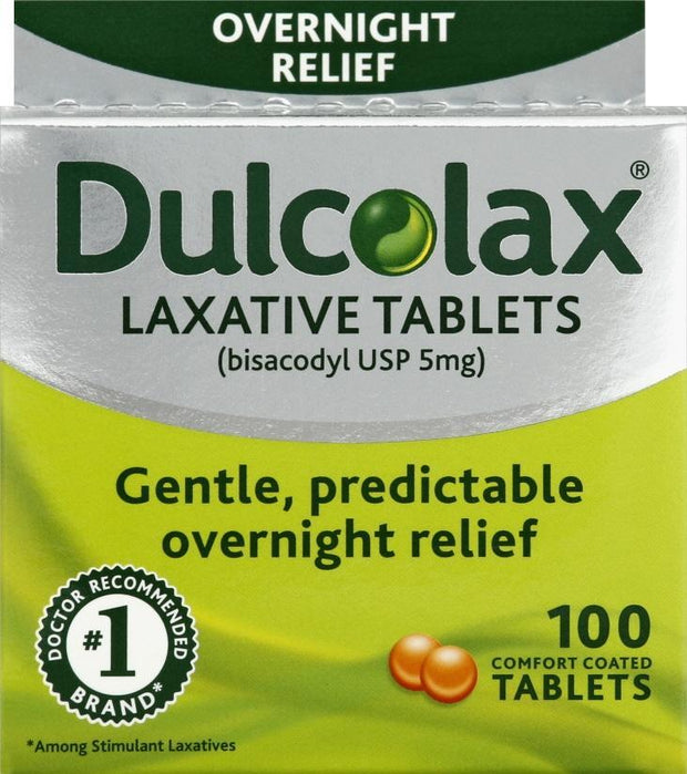 Dulcolax Laxative 5mg Tablets