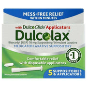 Dulcolax Medicated Suppositories with Applicator