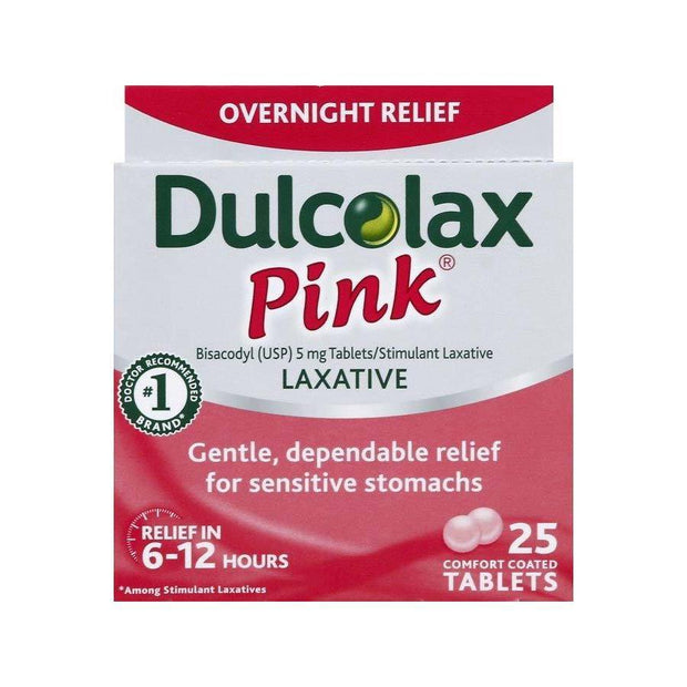 Dulcolax Pink Laxative For Women 5mg Tablets