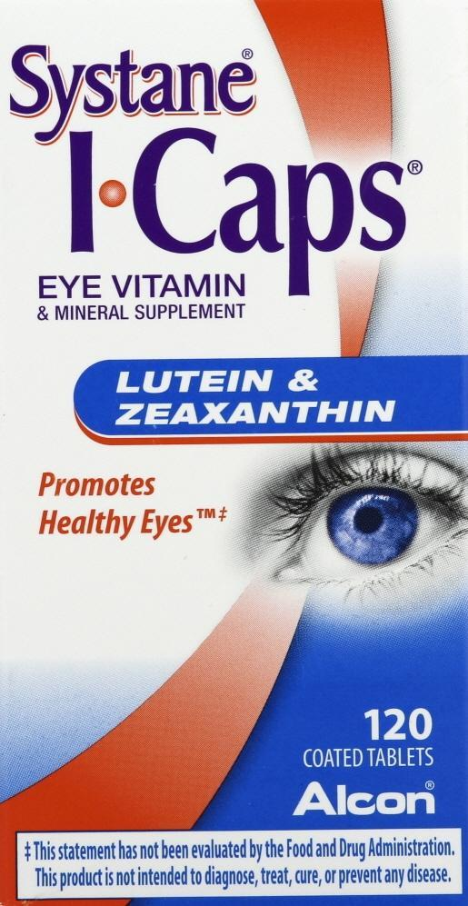 I-Caps Eye Vitamin Lutein & Zeaxanthin Tablets 120 ct
