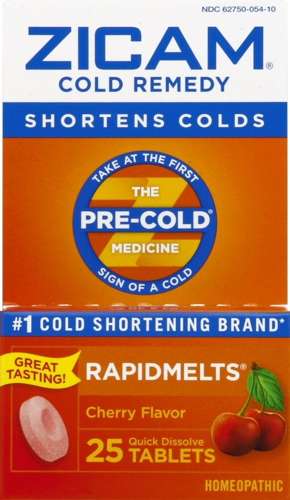 Zicam Cold Remedy Cherry Rapidmelts 25 ct