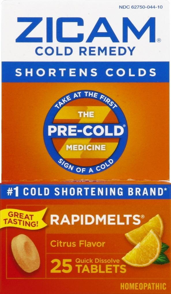 Zicam Cold Remedy Citrus Rapidmelts