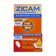 Zicam Ultra Cold Remedy Orange Cream Rapidmelts