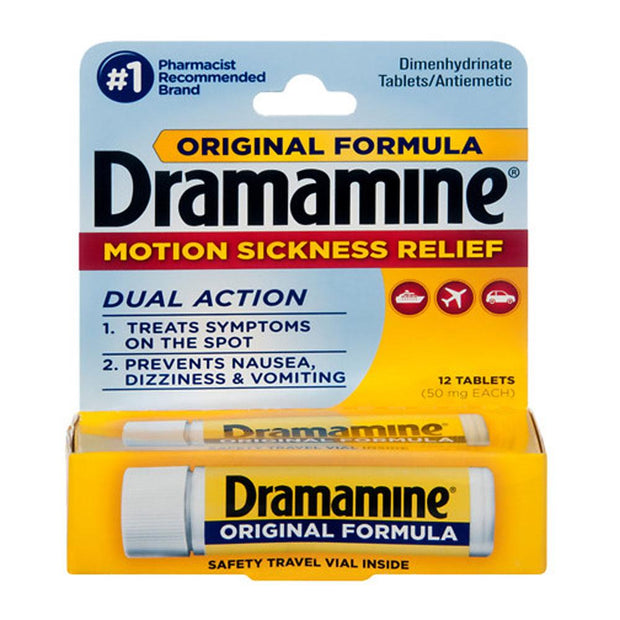 Dramamine Motion Sickness Relief Original Formula Tablets