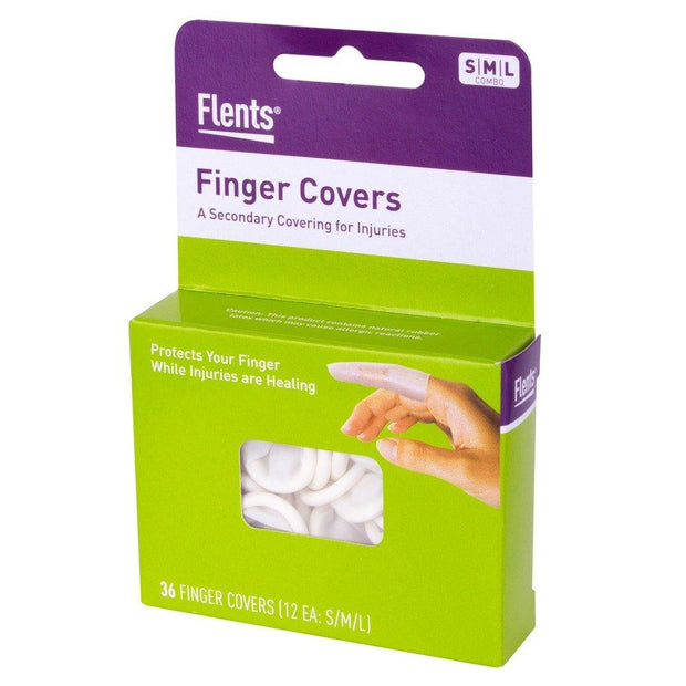 Flents Latex Finger Cots 36 ct