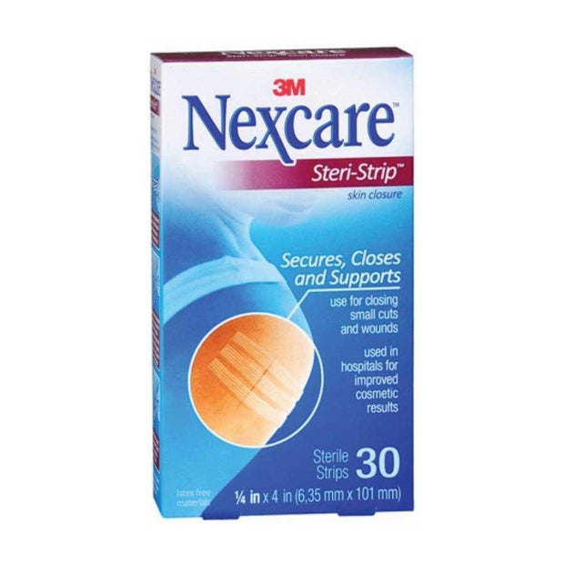 Nexcare Steri-Strip Skin Closure Strips 1/4 x 4 in. 30 ct