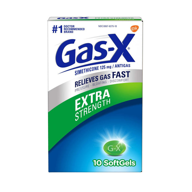 Gas-X Antigas Extra Strength Gelcaps