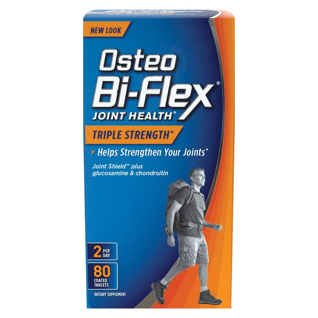 Osteo Bi-Flex Joint Health Triple Strength Coated Tablets 80 ct