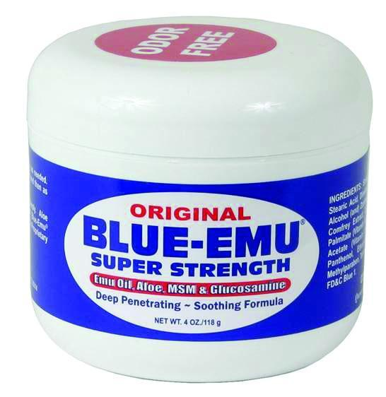 Blue-Emu Pain Relief Original Super Strength Cream 4 oz