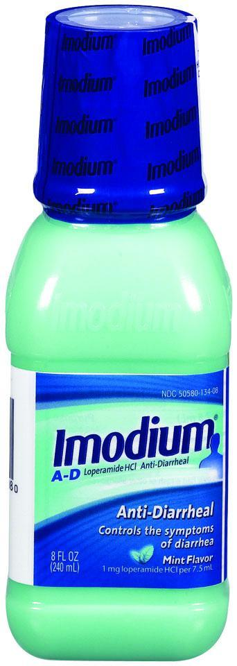 Imodium A-D Anti-Diarrheal 1mg Mint Liquid