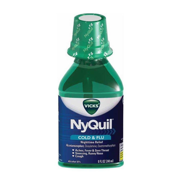 Vicks NyQuil Cold & Flu Original Liquid