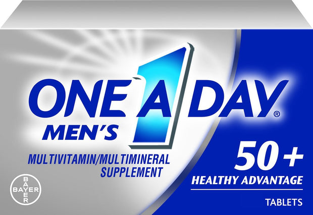 One-A-Day Men's 50+ Multivitamin/Multimineral Tablets 65 ct