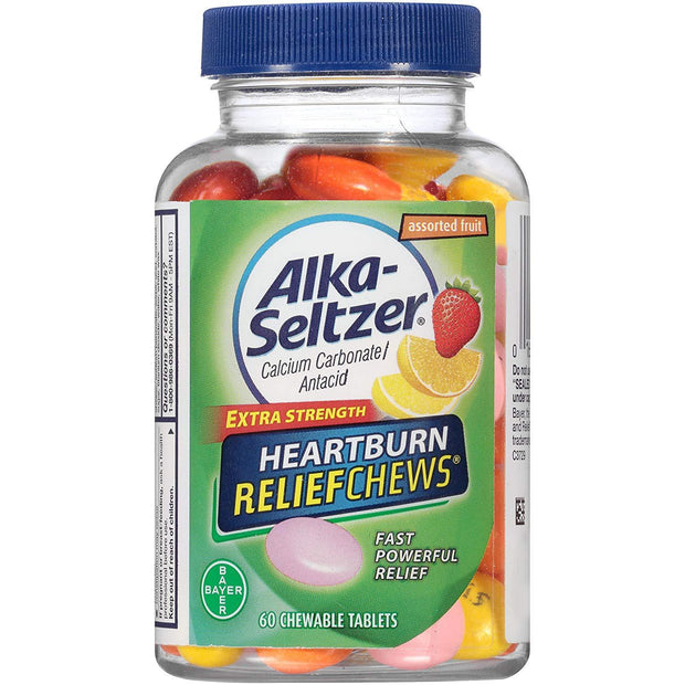 Alka-Seltzer Heartburn Relief Assorted Fruit Chewables