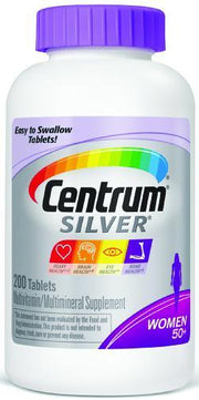 Centrum Silver Women 50+ Multivitamin/Multimineral Tablets