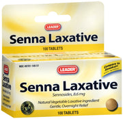 LEADER Senna Laxative Tablets 100 ct