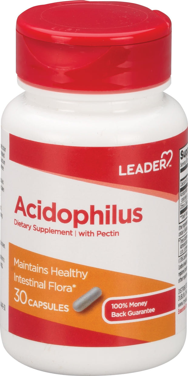LEADER Acidophilus Capsules 30 ct