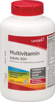 LEADER Adult 50+ Multivitamin/Multimineral Caplets