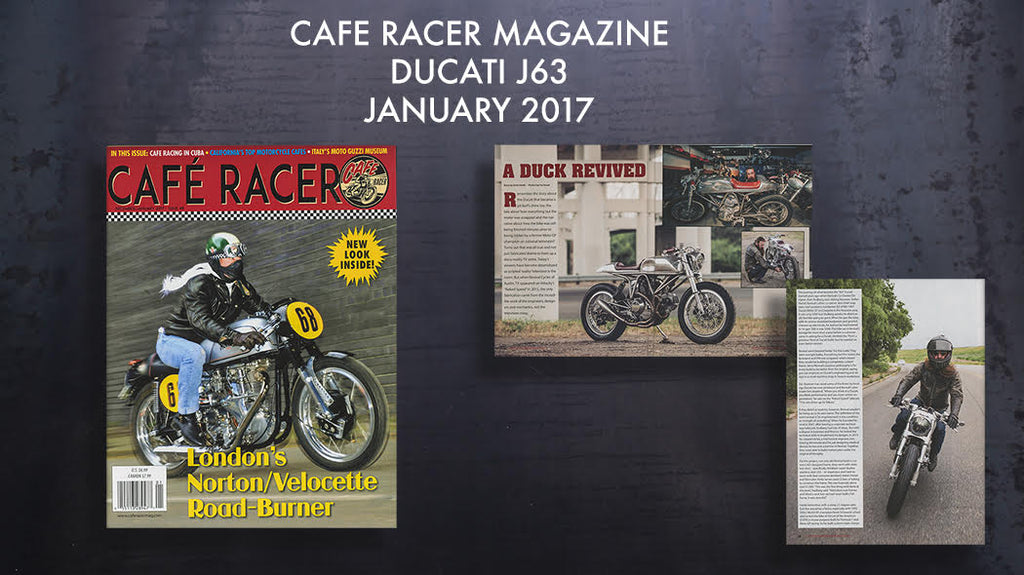 Revival Cycles Feature in Cafe Racer Magazine