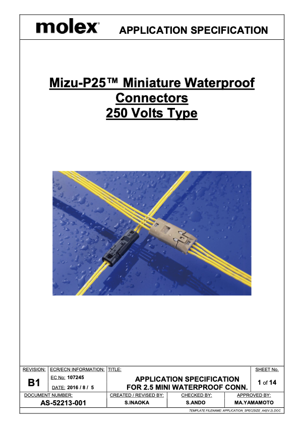Mizu P25 Connector Assembly Guide