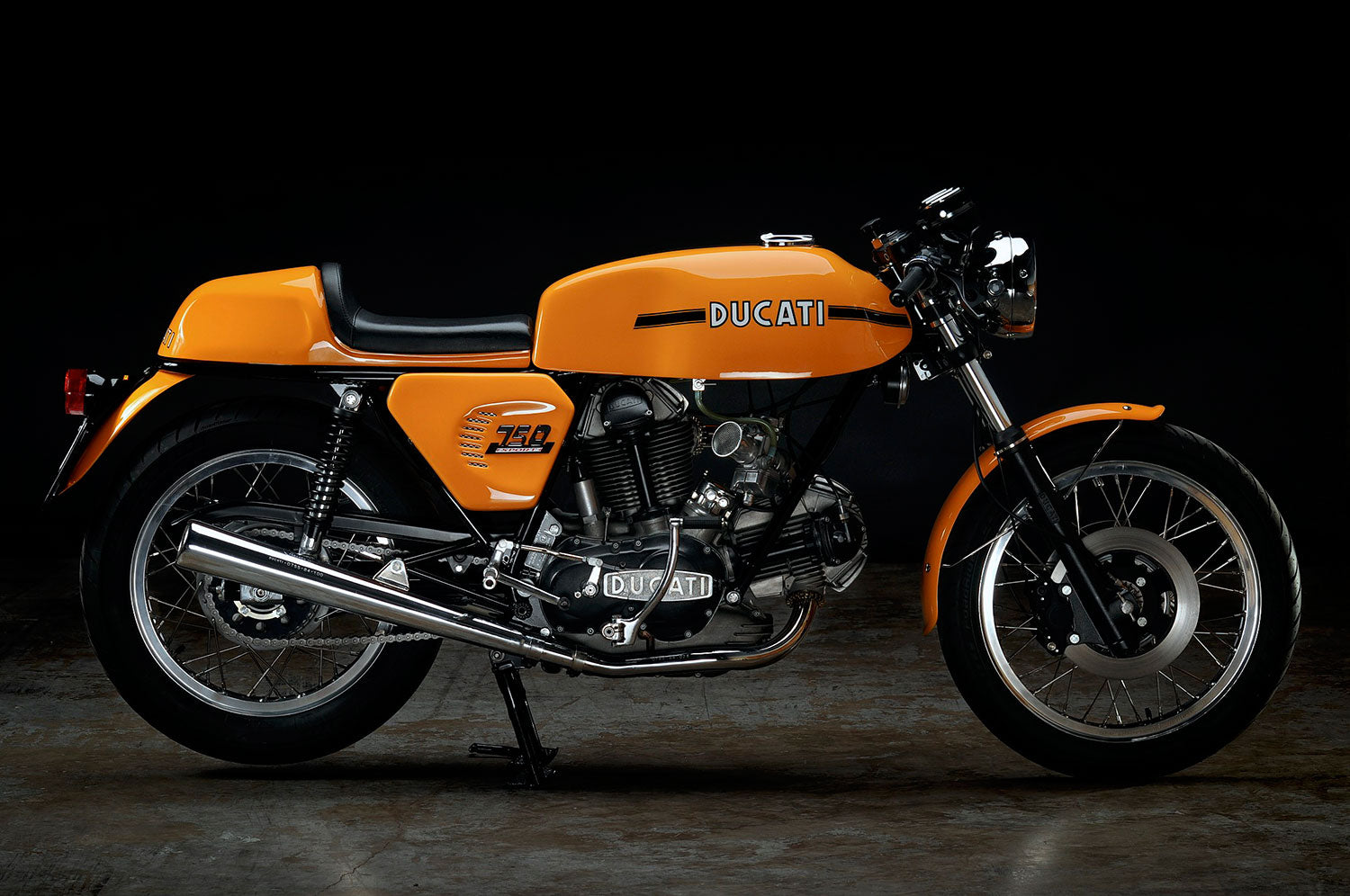 Revival Cycles Custom Build 1973 Ducati 750 Sport Hsus Darmah Wiring Loom Without A Doubt One Of Our Crowning Achievements Is Making This Bike Into The Amazingly Smooth Perfect Machine That It Today Better Than Ever
