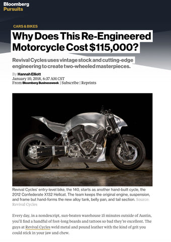 clipping from Revival Cycles Bloomberg article