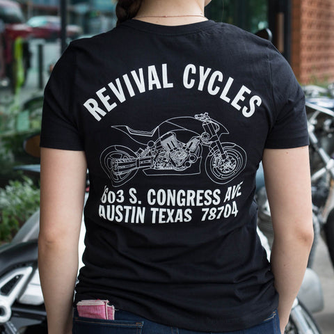 Revival Cycles Women's 140 Anchor T-Shirt