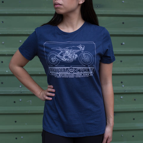 Women's Revival J63 T-Shirt - Navy