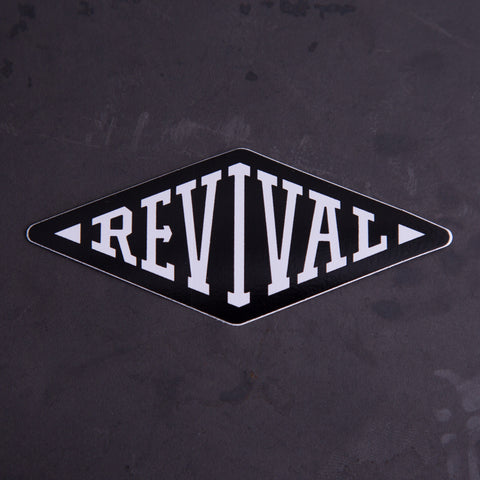Revival Cycles Diamond Sticker