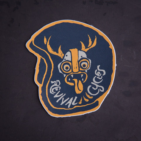 Revival Cycles Wild Deer Sticker