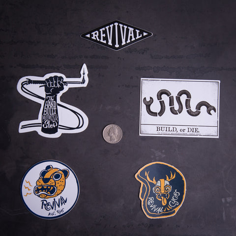 Revival Cycles Sticker Pack