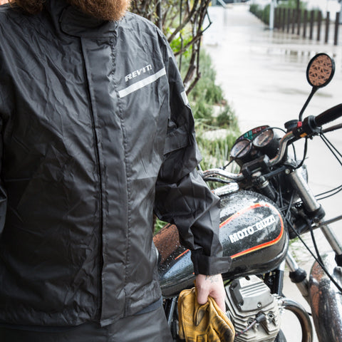 REV'IT! Cyclone 2 H20 Rain Jacket - Black