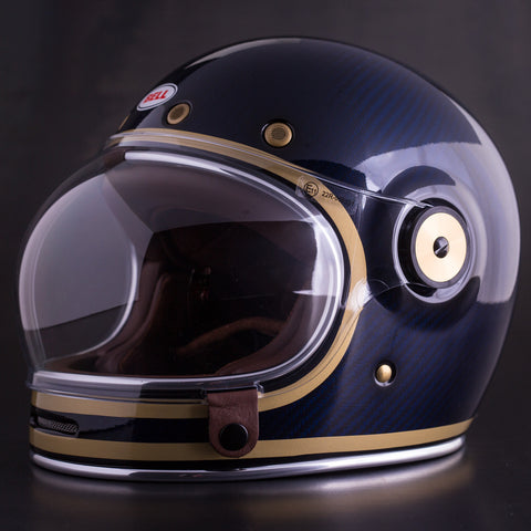 Bell Bullitt Helmet Carbon - Limited Edition Candy Blue