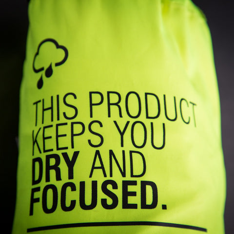 REV'IT! Cyclone 2 H20 Rain Jacket - Neon Yellow