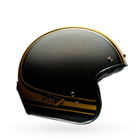 Bell Custom 500 Carbon Helmet - RSD Bomb Black/Gold