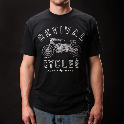 Revival Cycles Beto T-shirt Front