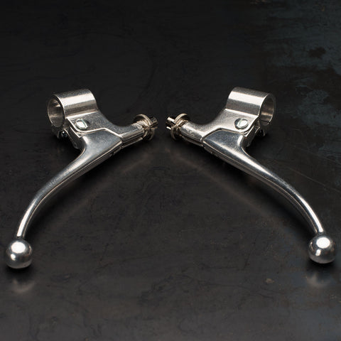 Amal Style Cable Pull Brake & Clutch Levers