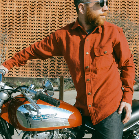 The Shop Rag Shirt - Style1 - Godspeed - Revival Cycles