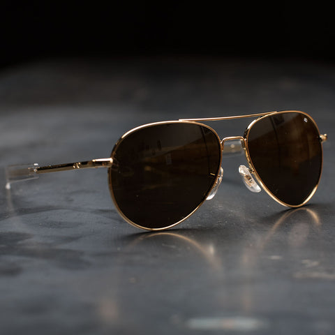 AO General Sunglasses - Gold Frame