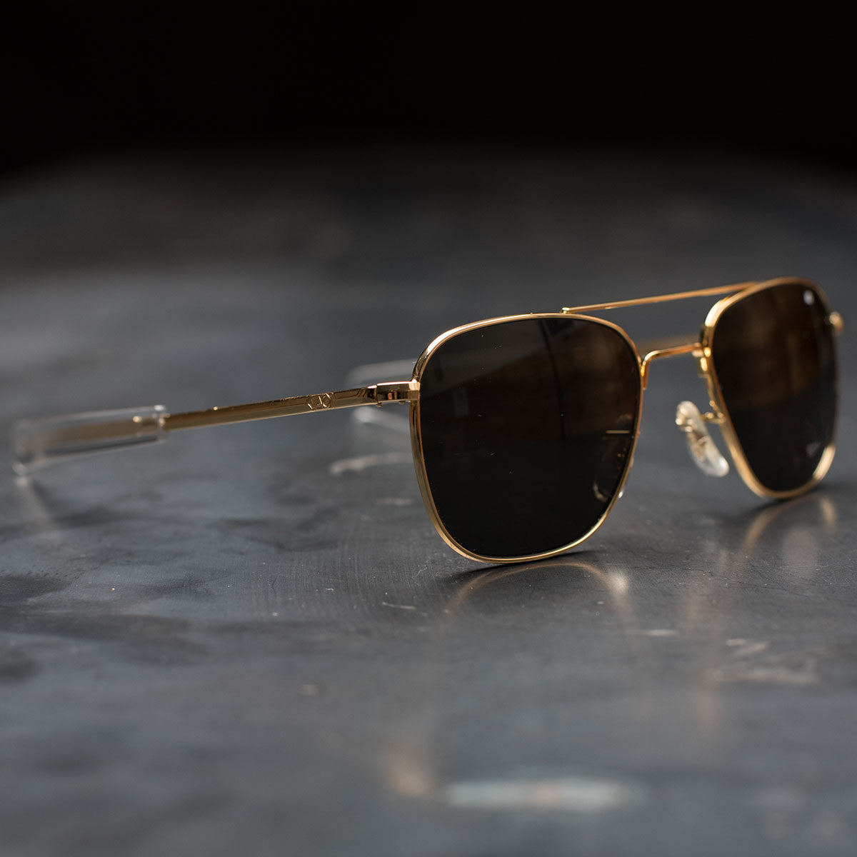 AO Original Pilot Sunglasses (Gold Frame) - Revival Cycles 5083f510f8d8