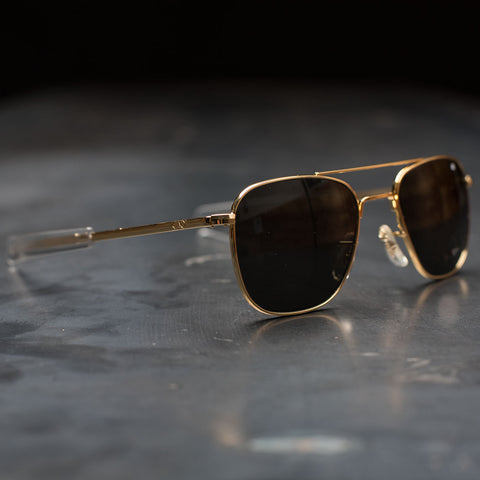 AO Original Pilot Sunglasses - Gold Frame