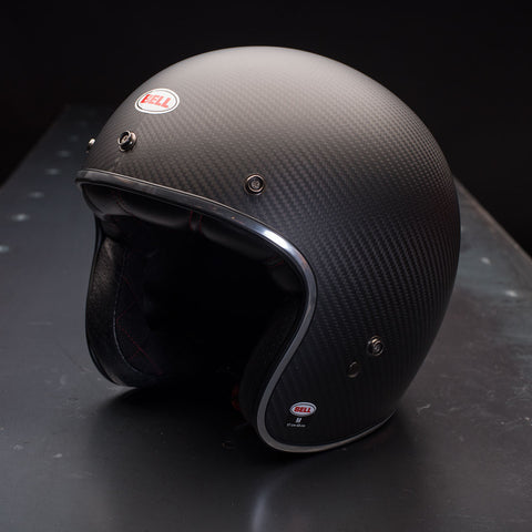 Bell Custom 500 Carbon - Matte Black