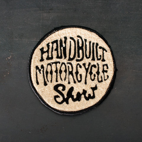 Ft Lonesome Round Handbuilt Motorcycle Show Patch