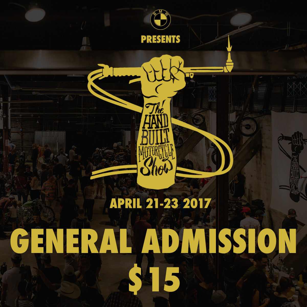 The Handbuilt Motorcycle Show - GA Ticket - Revival Cycles
